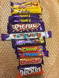 Delicieux Cadburys Chocolate Selection 10 Bar Pack