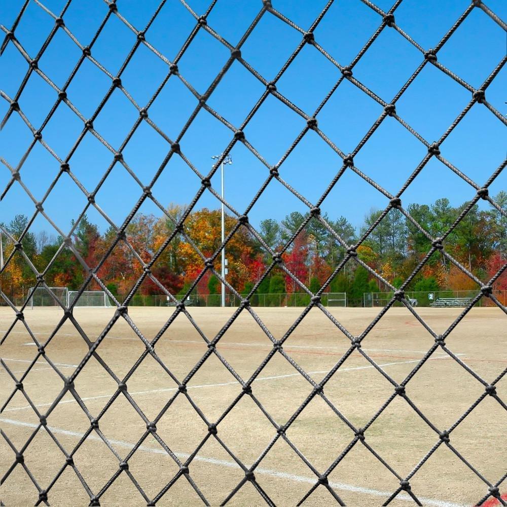 Yaheetech 10 x 20Ft Waterproof Baseball Backstop Net, Multi-use Net for Bird Against, Basketball Guard Net, Garden Net, etc 1.8'' X 1.8'' Square Mesh Size by Yaheetech