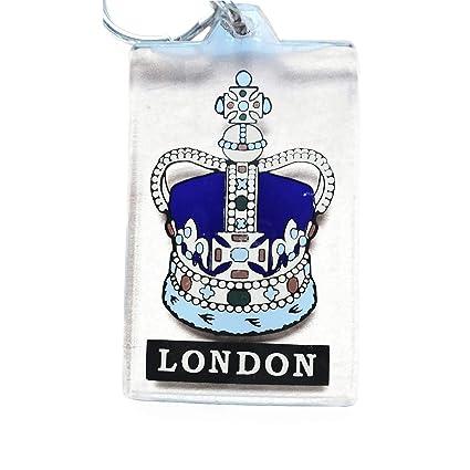 Corona de la Reina/artística llavero de Londres, Inglaterra ...