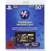 PlayStation Network Card 50 € [Guthabenkarte für deutsches PSN-Konto]