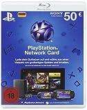 PlayStation Network Card 50  [Guthabenkarte für deutsches PSN-Konto]