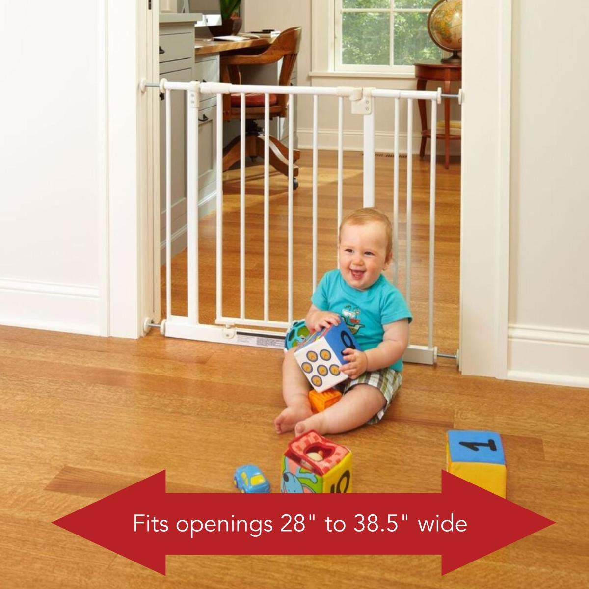 1. Supergate Easy Close Gate by the North States; Best multipurpose baby gate