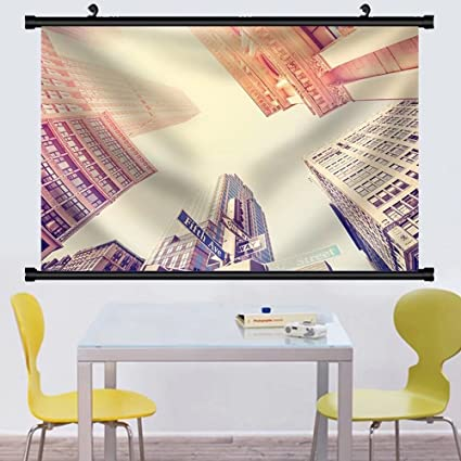 Amazon.com: Gzhihine Wall Scroll Vintage Filtered Fisheye Picture of ...