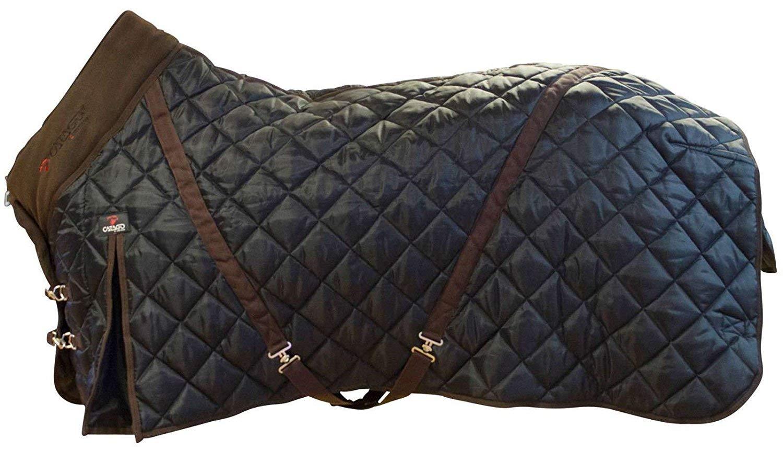 CATAGO Stalldecke 500g Füllung schwarz-braun 420D Cool Max Gehfalte Kreuzgurte Eldorado
