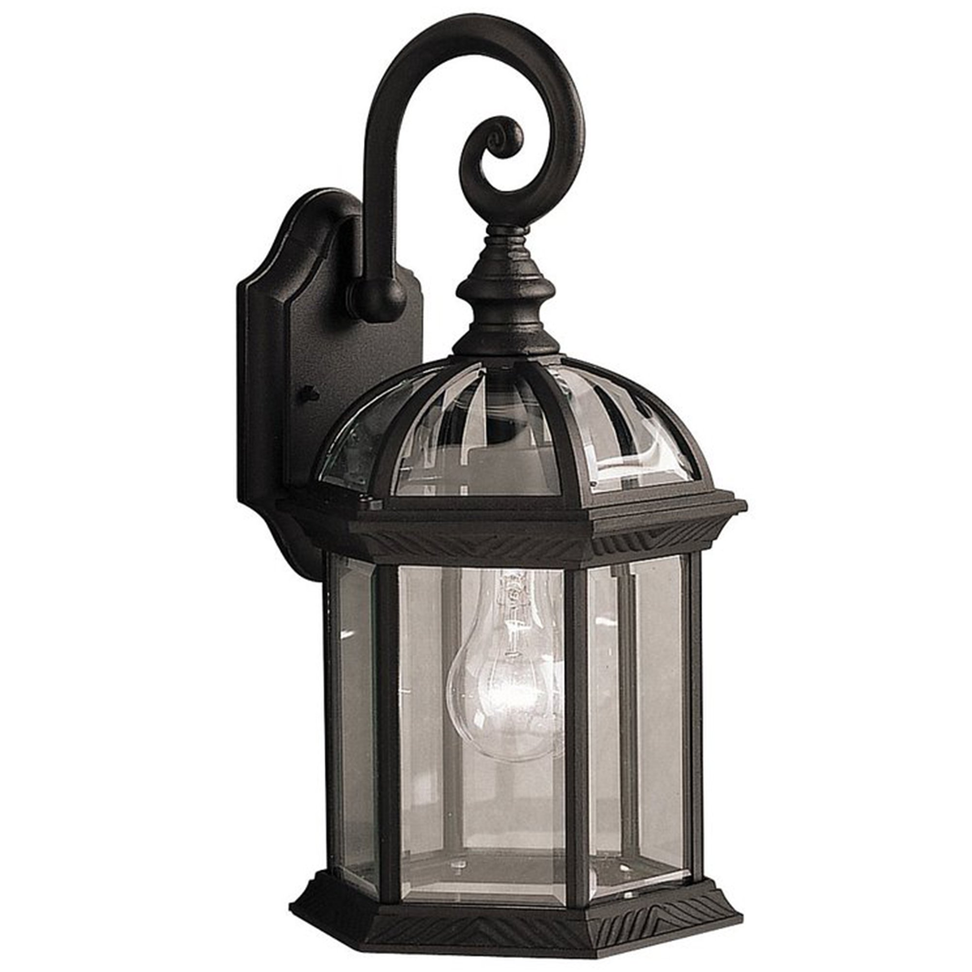 Y-Decor EL52BL Adalyn 1 Exterior Lighting in Black Finish 1 by Y Decor