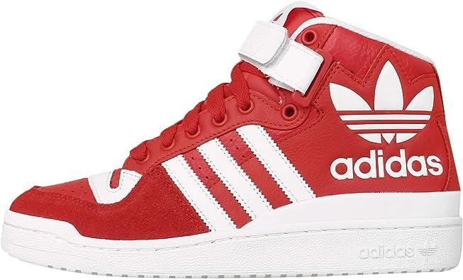 ADIDAS Zapatillas Abotinadas Forum Mid RS XL Rojo/Blanco EU 43 1/3 (UK 9): Amazon.es: Zapatos y complementos