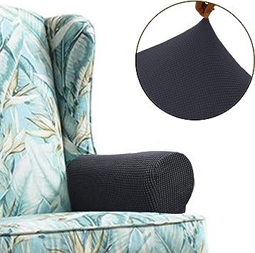 Amazon.com: Chelzen Fundas de sofá elásticas de tela de ...