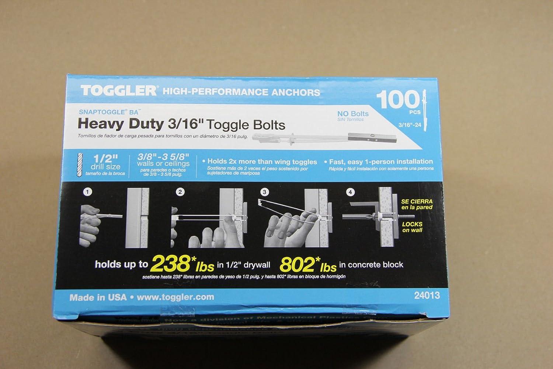 Amazon.com: 200 Toggler SnapToggle BA 3/16