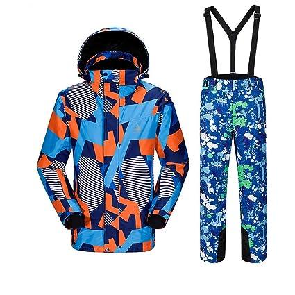 Yishelle Ropa de esquí de los Hombres Traje de esquí para ...
