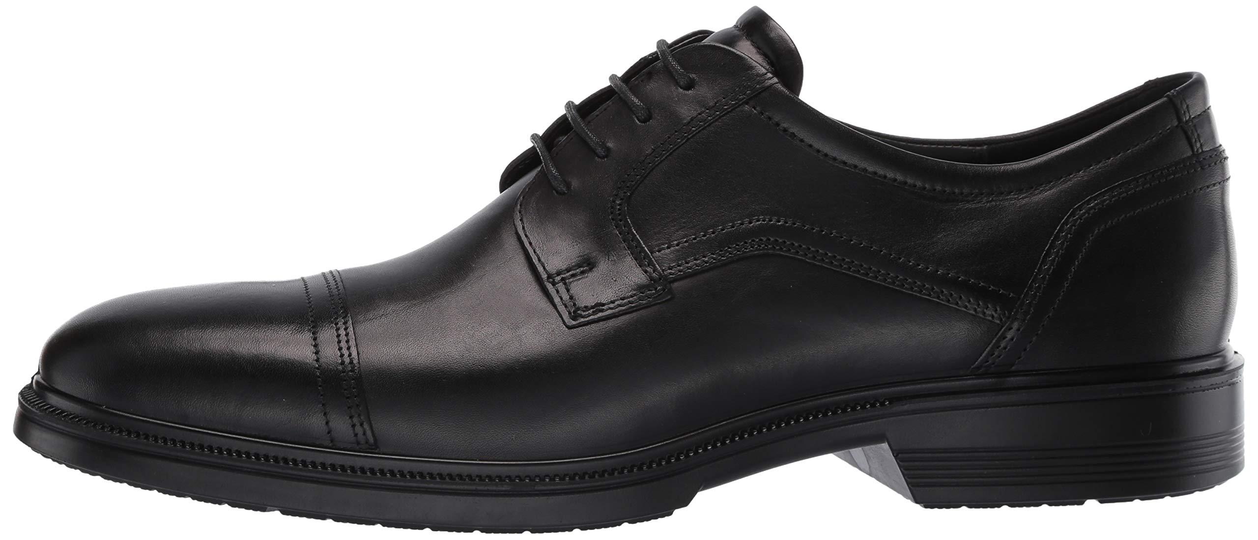 ECCO Men's Lisbon Cap Toe Tie Oxford, Black, 48 EU/14-14.5 M US by ECCO (Image #5)