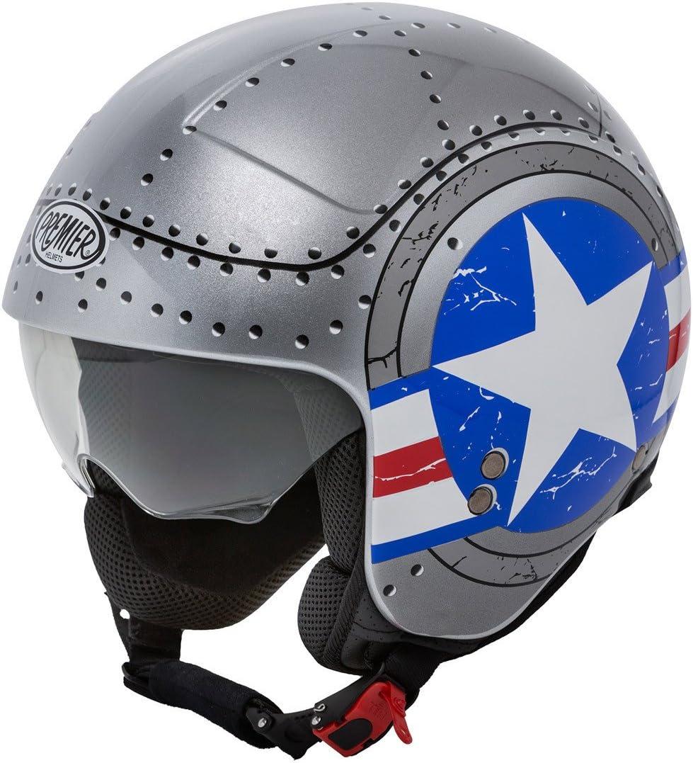 Premier Motorradhelm Rocker Us Army M Auto