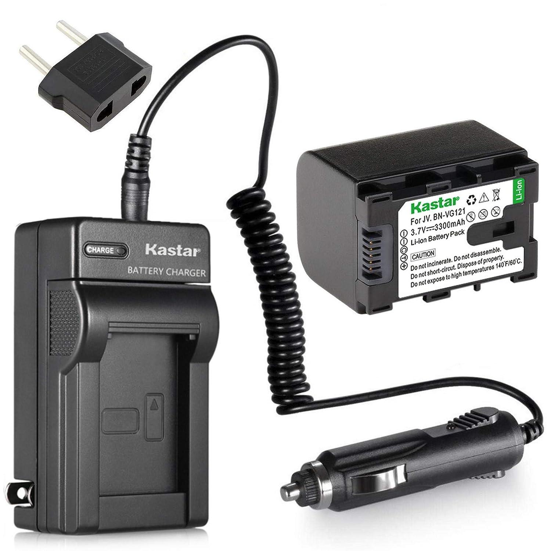 バッテリーと充電器for JVC Everio gz-hm35bu、gz-hm40bu、gz-hm50buフラッシュメモリビデオカメラ   B00VHFFFK2