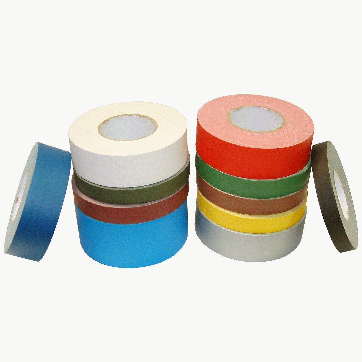 J.V. Converting J90/BLK360 JVCC J90 Polyethylene Coated Cloth Low Gloss Gaffer-Style Duct Tape, 36 lb. per inch Tensile Strength, 60 yd. Length x 3'' Width