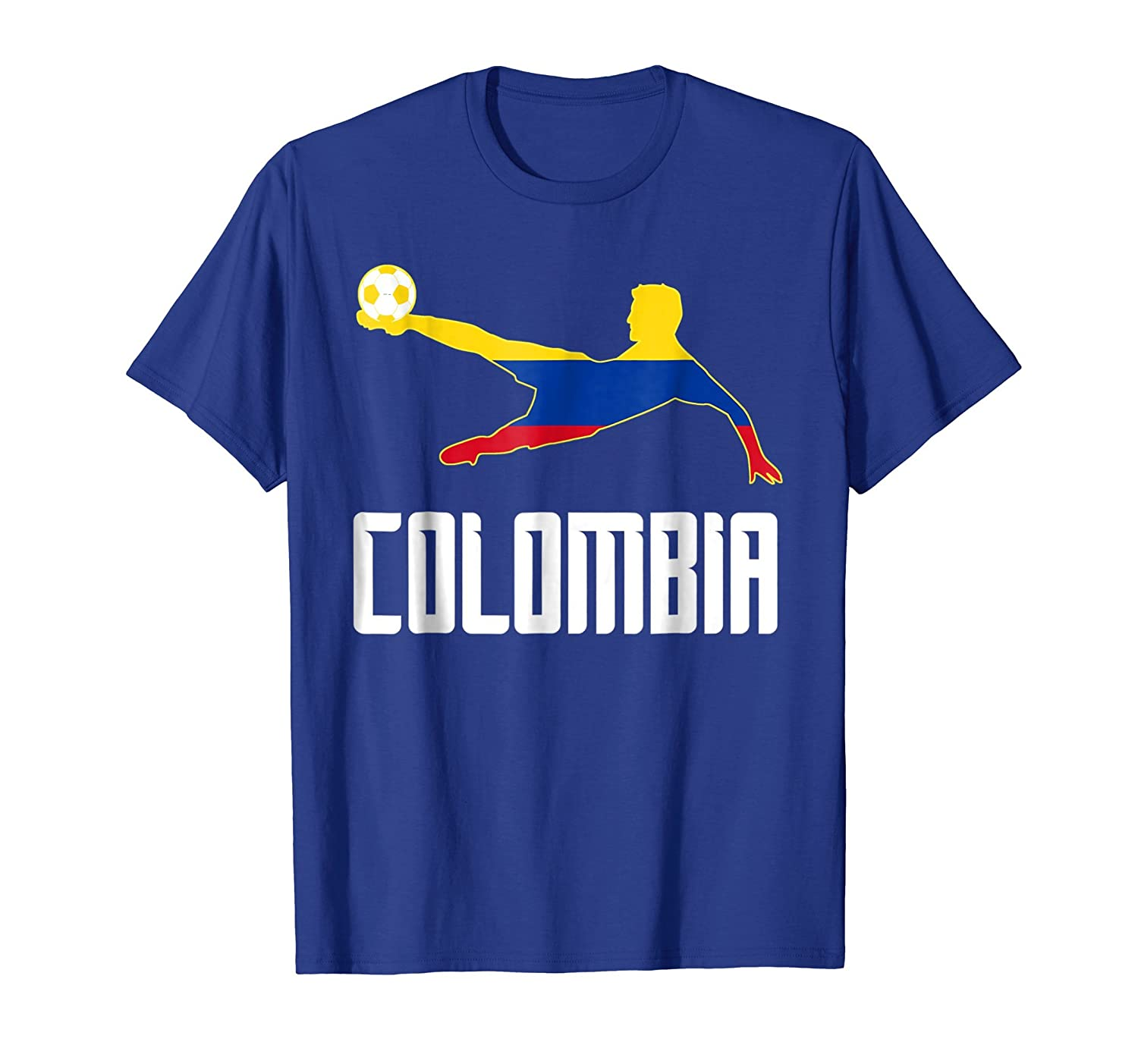 Amazon.com: Camiseta Futbol Colombia - Colombian Soccer T-shirt: Clothing