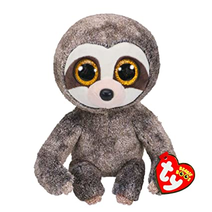 045535fb492 Amazon.com  Ty Beanies Claire s Girl s Boo Medium Dangler The Sloth Plush  Toy  Ty Beanies  Toys   Games