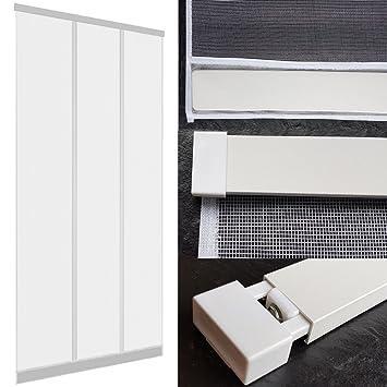 Bevorzugt Insektenschutz Tür Vorhang 100 x 220 cm mit ALU Klemmleiste für KT64