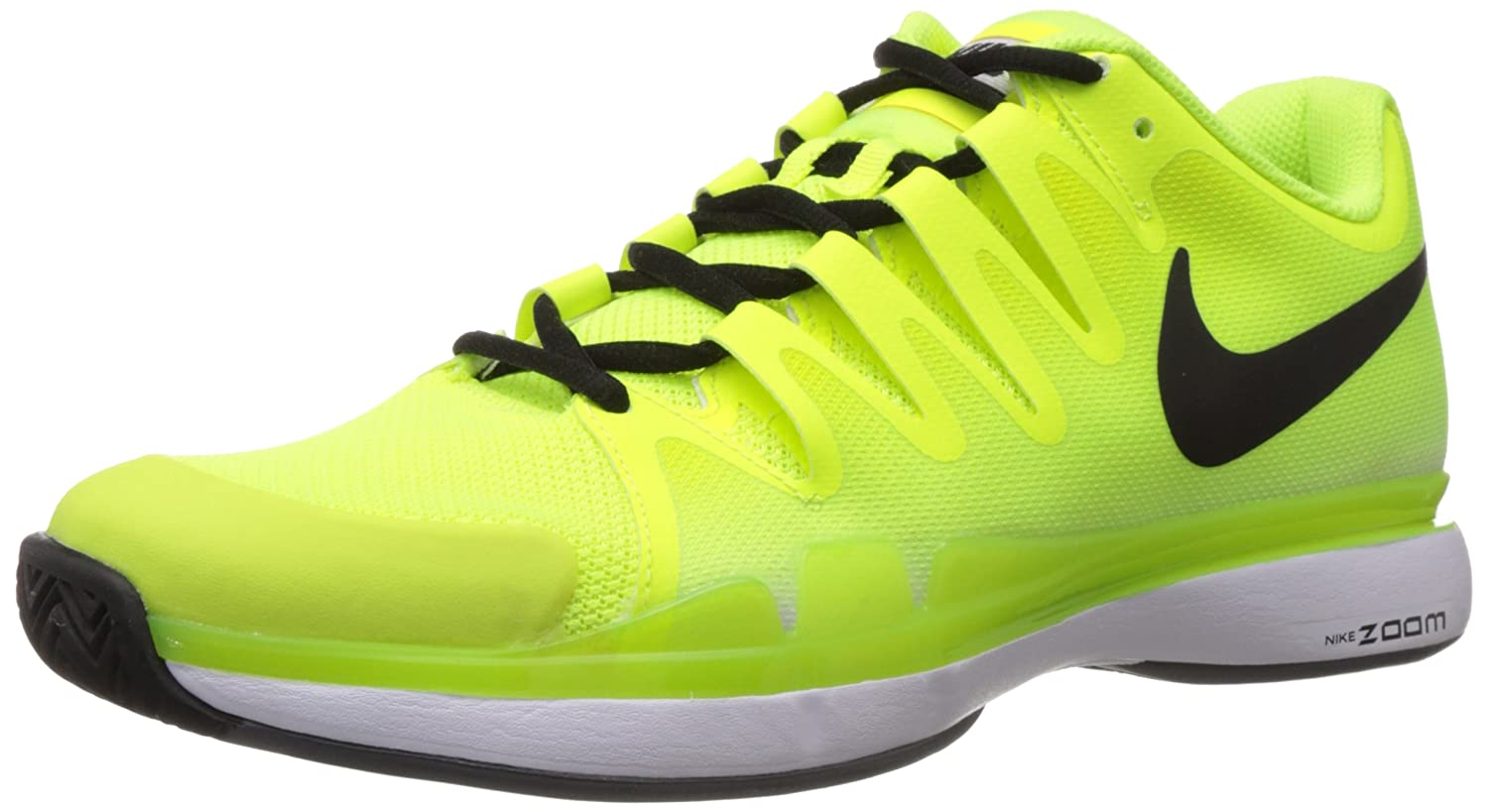 reputable site 9bff6 92100 Amazon.com  Nike Zoom Vapor 9.5 Tour Mens Tennis Shoes Yellow New In Box,  10  Sports   Outdoors
