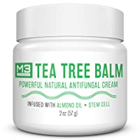 M3 Naturals Tea Tree Balm Infused with Stem Cell and Almond Oil Powerful Natural...