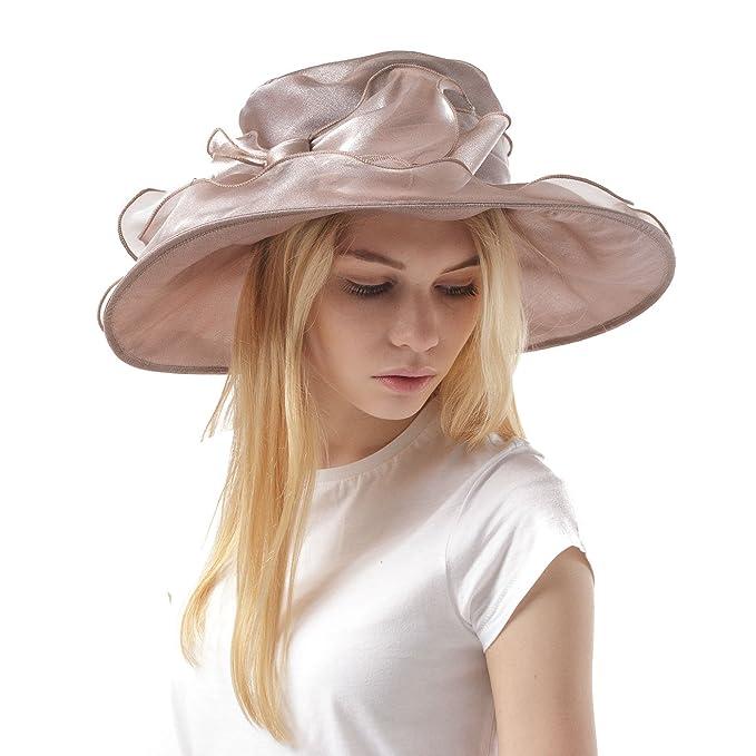 Elegante cappello da cerimonia in stile inglese 7704a826f789