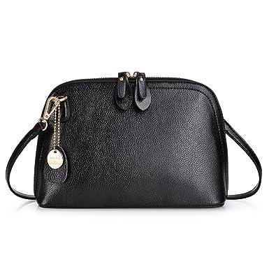 9e530cd09682b Vbiger Damen Handtasche Damen Umhängetasche PU Ledertasche Schwarze Handtasche  Damen Henkeltasche