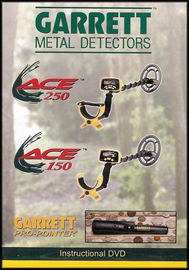 Amazon.com: Garrett Metal Detectors: ACE 250 / ACE 150 / Pro-Pointer [Instructional DVD]: Garrett Metal Detectors: Movies & TV