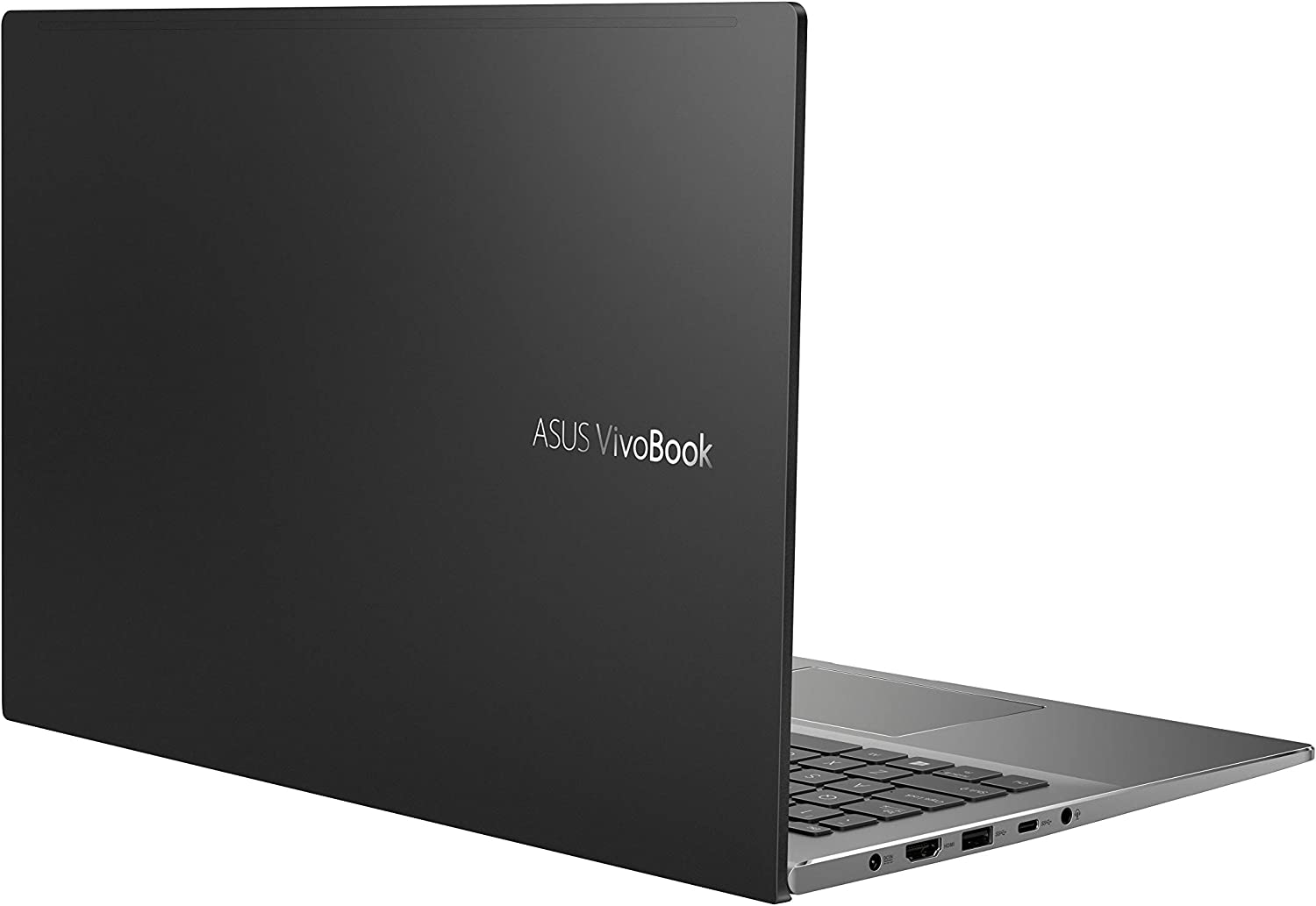 "ASUS VivoBook S15 S533 Thin and Light Laptop, 15.6"" FHD Display, Intel Core i7-10510U CPU, 16GB DDR4 RAM, 512GB PCIe SSD, Fingerprint Reader, Windows 10 Home, Indie Black, S533FA-DS74"