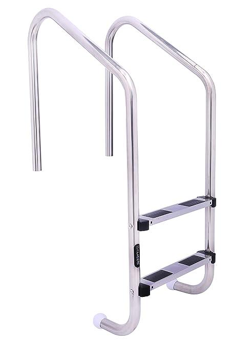 Amazon.com : LUISLADDERS Pool Ladder 2-Step Swimming Pool ...