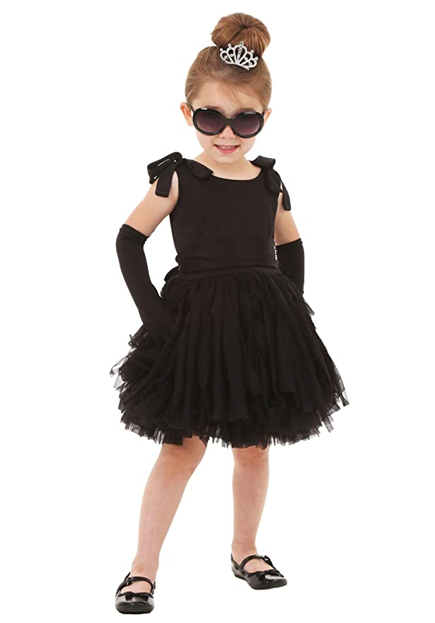 Kids 1950s Clothing & Costumes: Girls, Boys, Toddlers Toddlers Breakfast at Tiffanys Holly Golightly Costume Set $19.99 AT vintagedancer.com