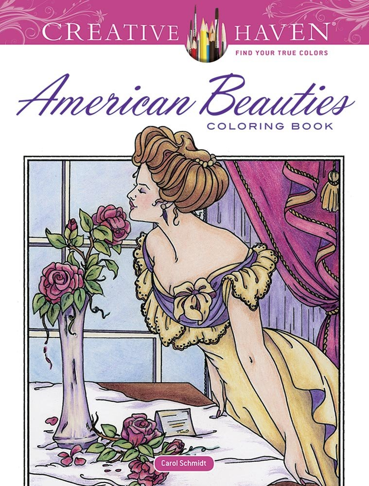 Creative Haven American Beauties Coloring product image