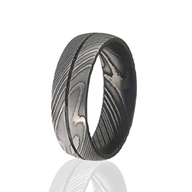 3dfbfcc62bf46 The Jewelry Source Damascus Steel Ring, Damascus Steel Rings For Men