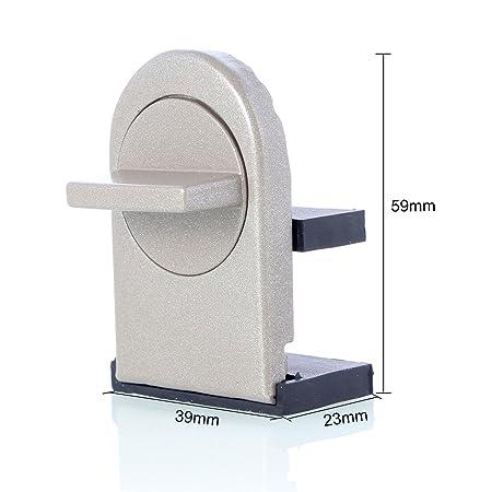 Neuftech 2 x Ajustable Bloqueo de Ventanas Cerradura de Seguridad del bebé para Ventanas y Puertas: Amazon.es: Electrónica