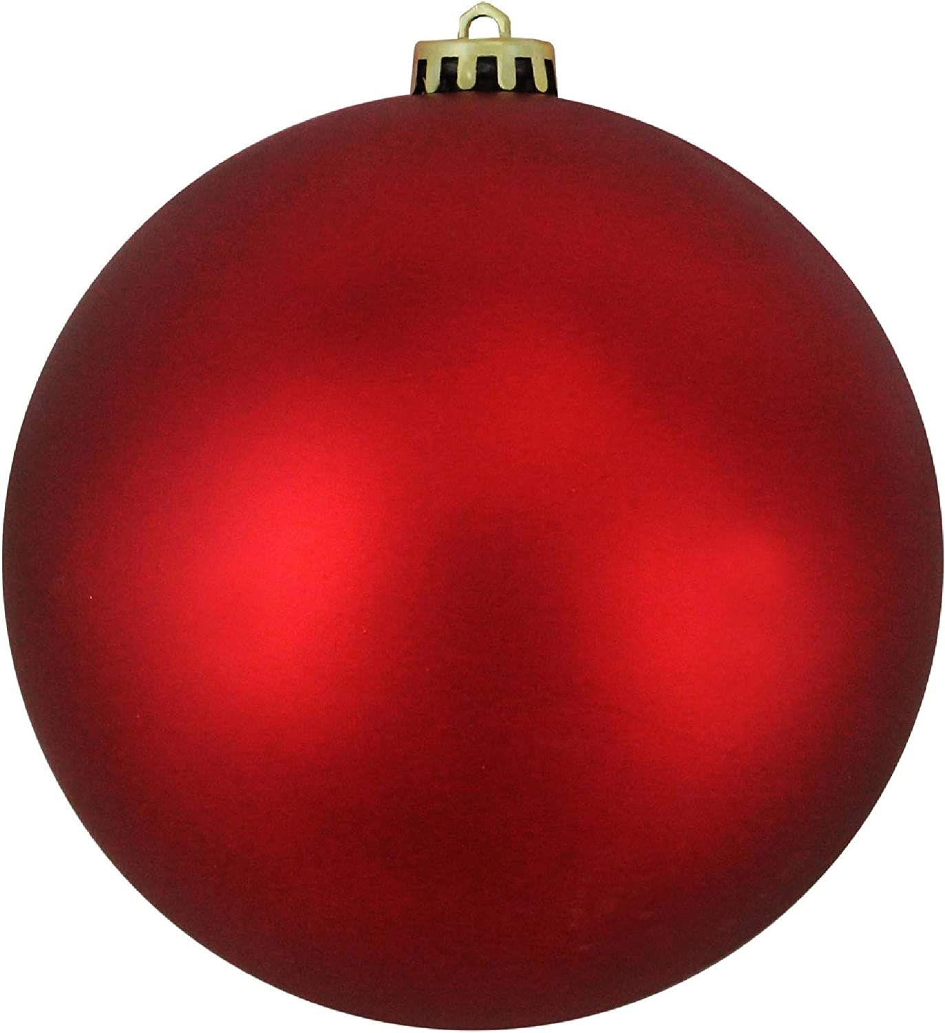 Amazon Com Northlight Red Hot Shatterproof Matte Commercial Christmas Ball Ornament 8 200mm Home Kitchen