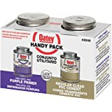 Oatey 8 oz. PVC Cement and Purple Primer Handy Pack