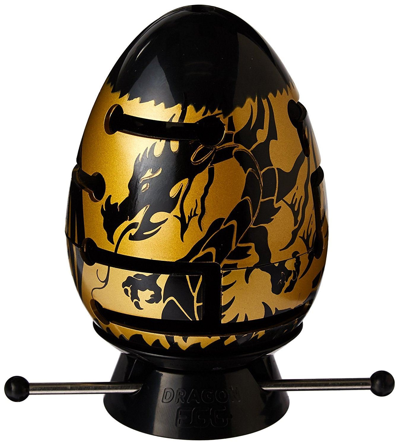 2-Layer Smart Egg Labyrinth Puzzle Level II 2-47 Black Dragon Smart Egg-dragon