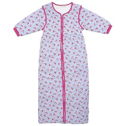 Jojo Maman Bébé – Saco de dormir para bebé, diseño estampado, color rosa,