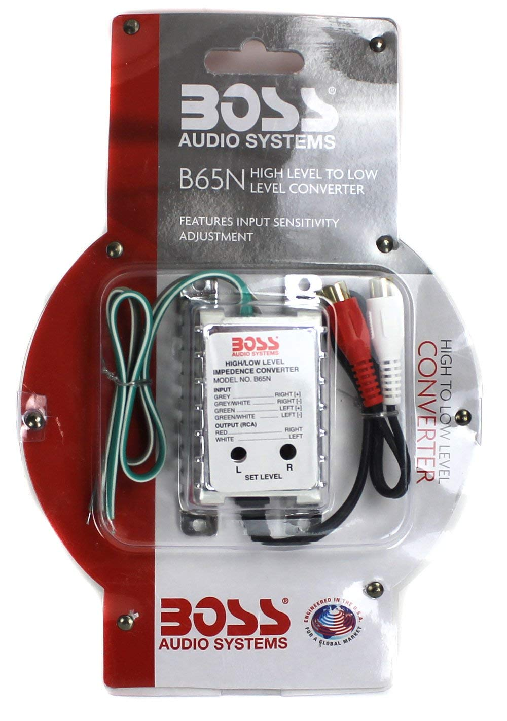 Ground Loop Isolator Boss Audio B25n Noise Filter For House Wiring Car Systems Electronics