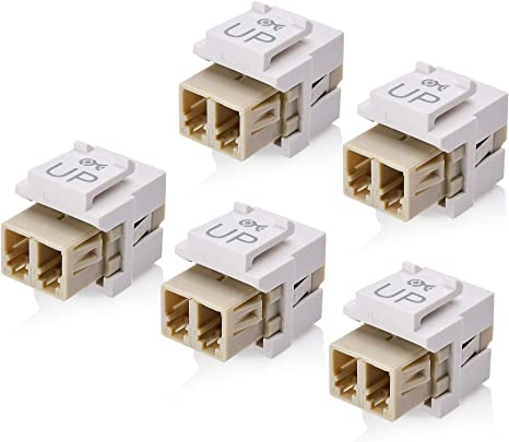 Cat6 Jacks Ivory 25 Fast Free Same Day Shipping USA Seller-Lifetime Warranty