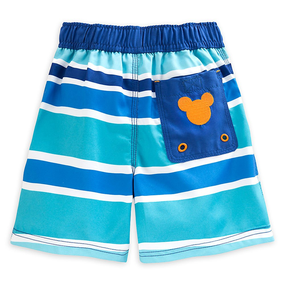 aab09d13ff Amazon.com: Disney Store Mickey Mouse Clubhouse Surf's up Swim Trunks for  Boys: Clothing