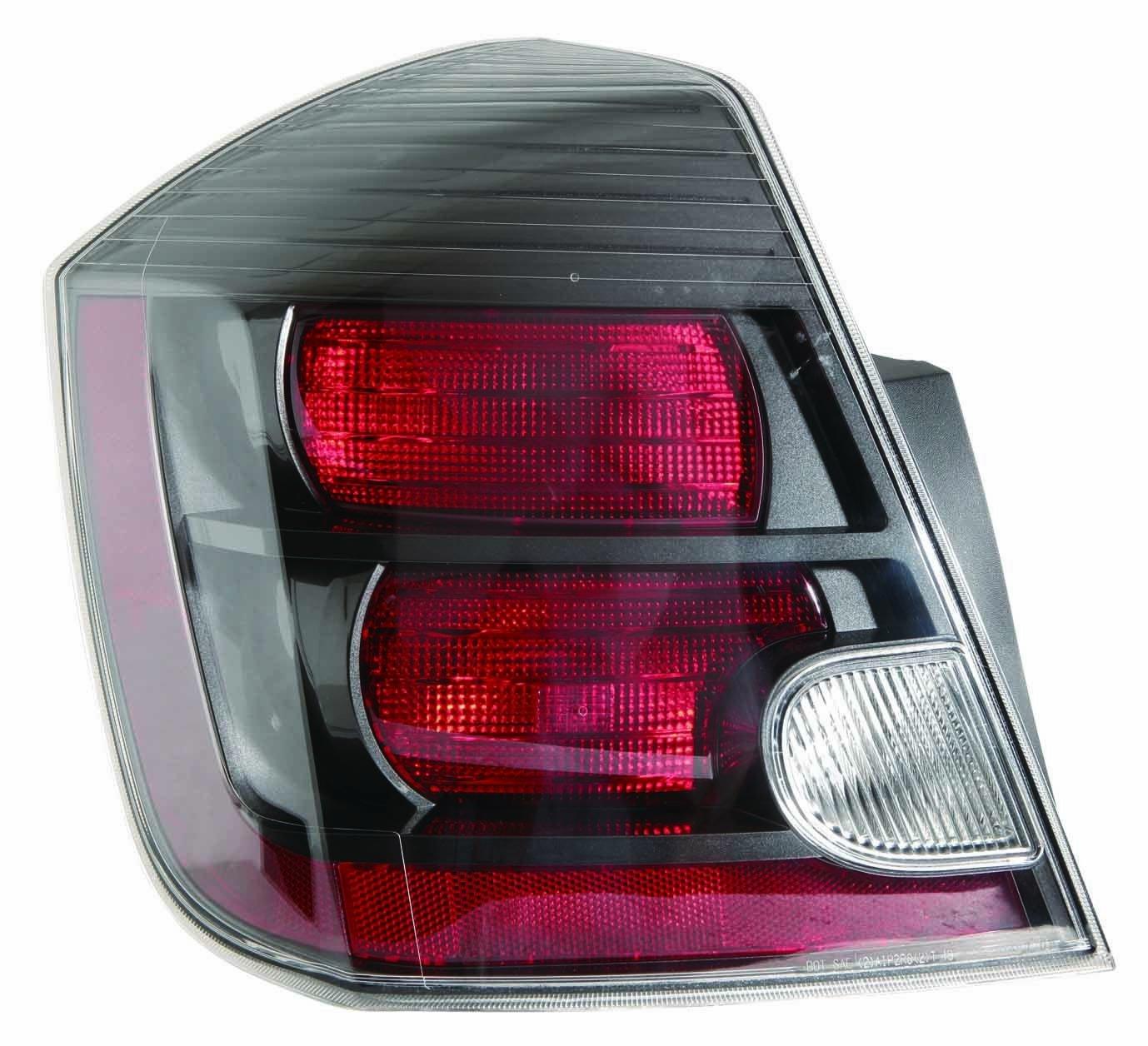 Nissan Sentra 10-12 Tail Light Assembly 2.5L Engine (SR.SE-R.SE-R SPEC V Model) LH USA Driver Side NSF DEPO 315-1958L-AFN2