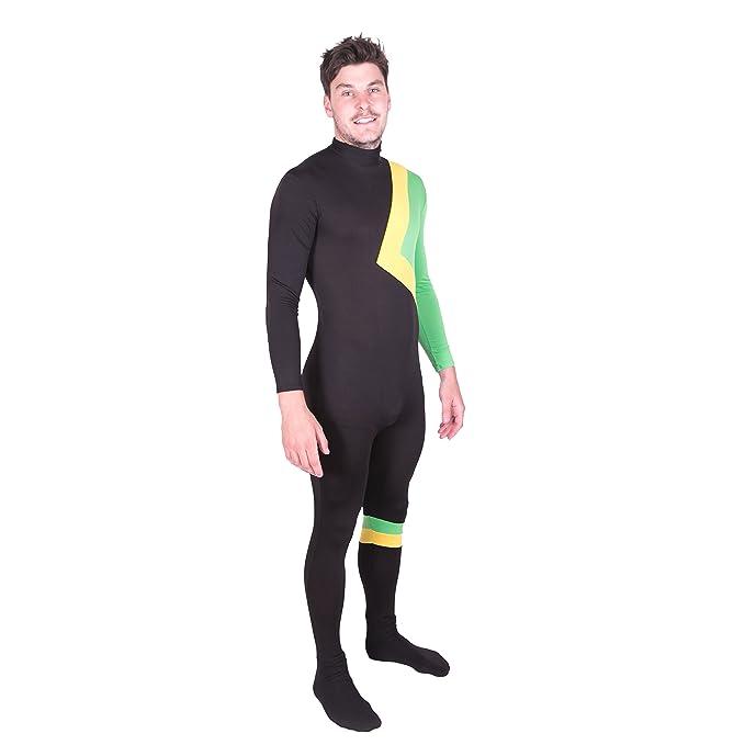 0a1016dfe4e Bodysocks Jamaican Bobsleigh Cool Running's Fancy Dress Costume (All ...