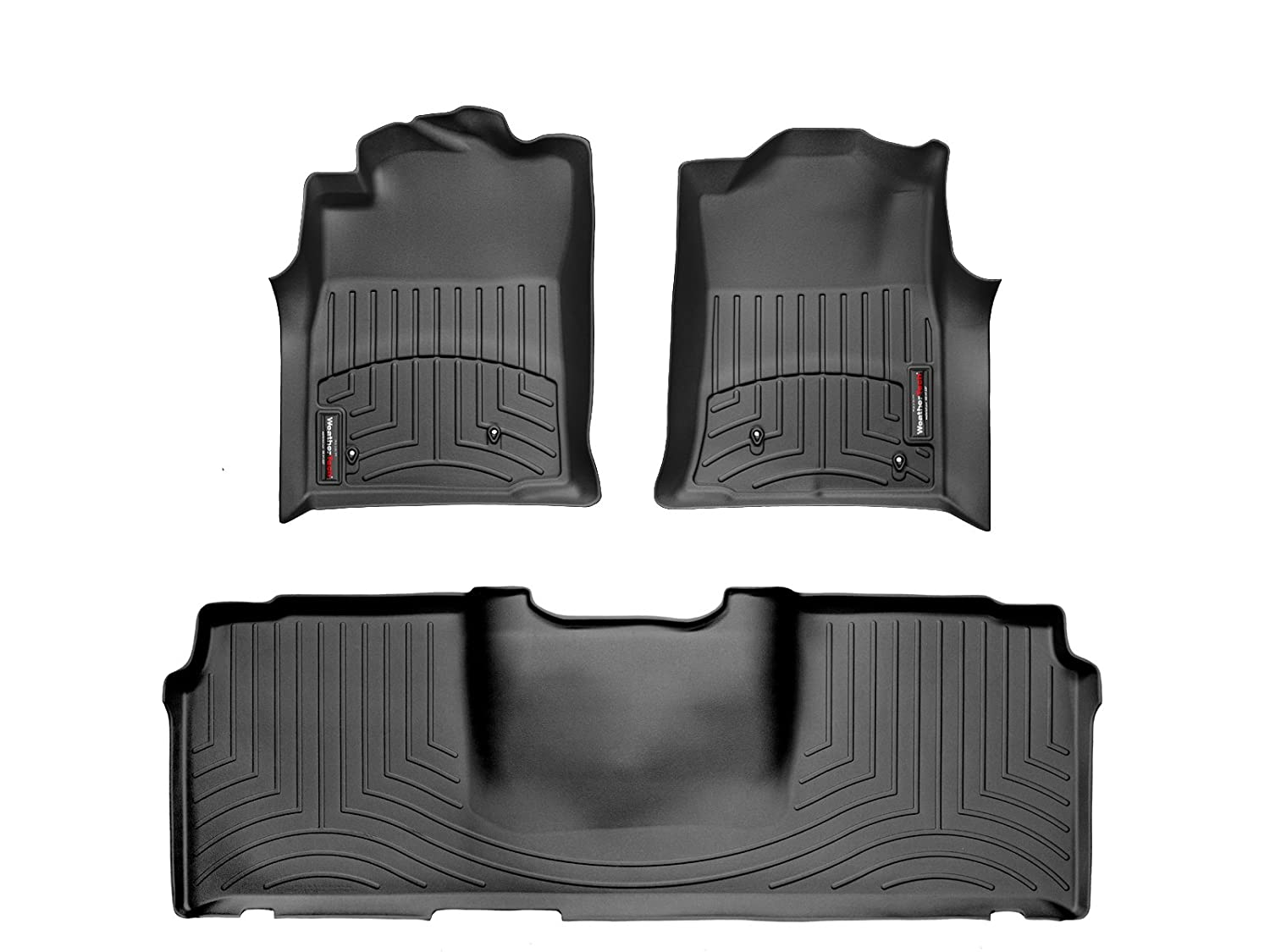 Weathertech mats toyota tacoma - Amazon Com Toyota Tacoma Double Cab Weathertech Floor Liners Full Set Includes 1st And 2nd Row All Wheel Drive Models Only Black Automotive