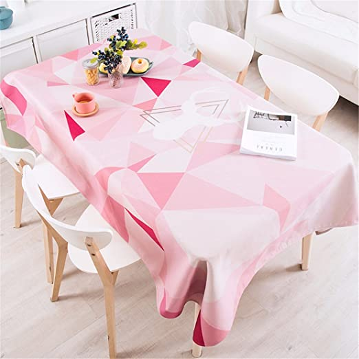 140 * 220 cm color rosa Patchwork geométricas triángulo Instagram ...