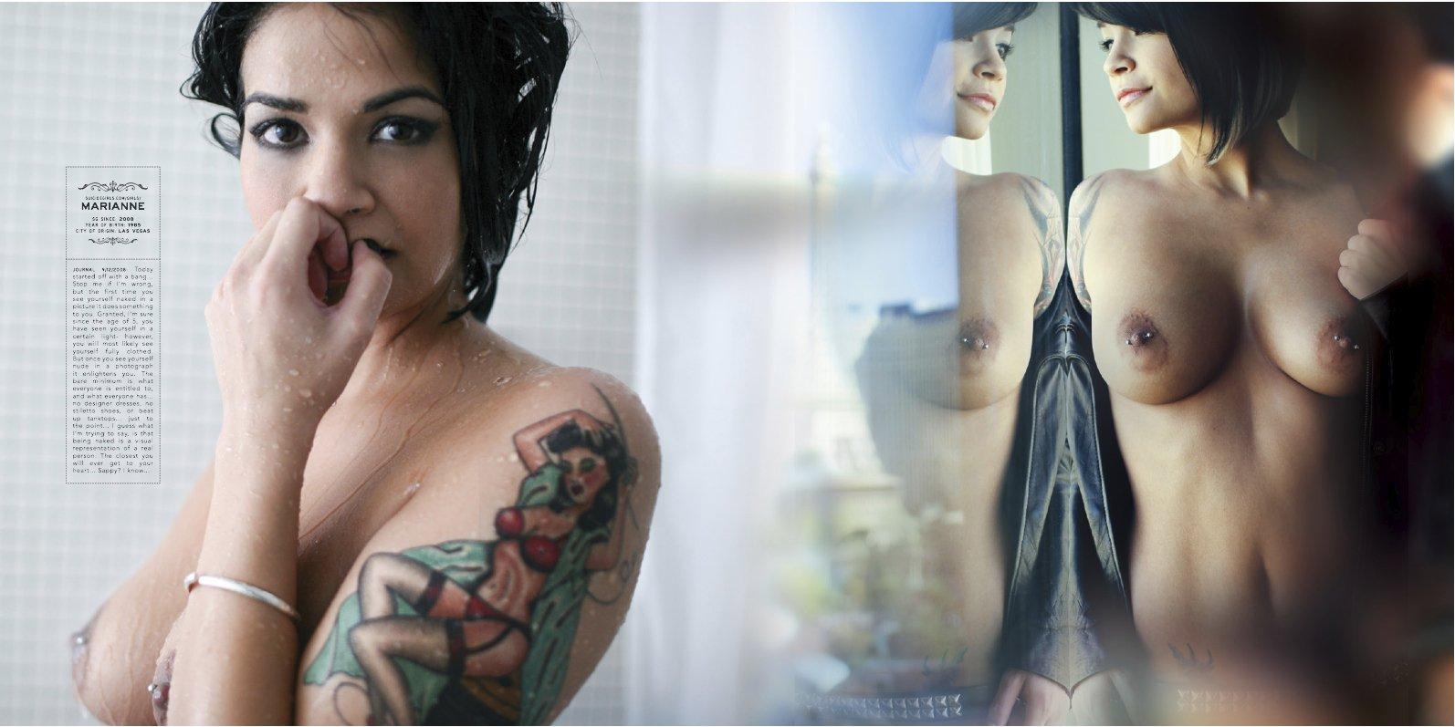 Brooke hogan posing nude