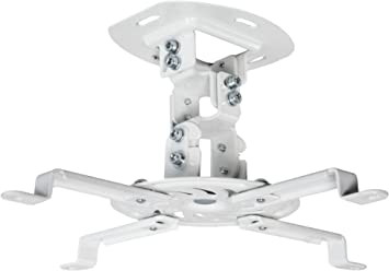 New 360 degree Projector Ceiling Wall Mount Bracket LED LCD DLP Monitor Tilt ED