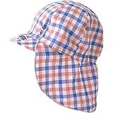 [カジュアルボックス] ベビー帽子 SARA コットン バオバブ UVカット キャップ 日本製 46~48cm チェックカラフル