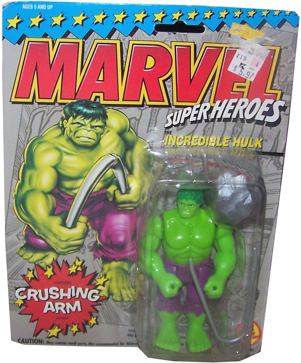 Vintage MARVEL Super Heroes Actionfigur: HULK - Crushing Arm!
