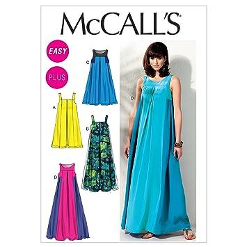 Unbekannt Mc Call´s Schnittmuster 6555 B5 Damen Kleid,Dress,Vestir ...