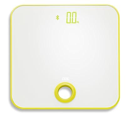 ADE Báscula de baño digital BE1614 FITvigo. Electronica con excelente App. gratuita. Obtenga