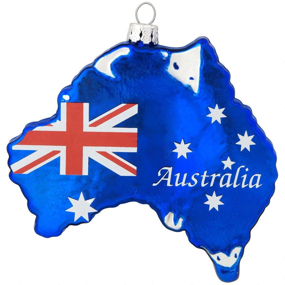 New Glass Country Of Australia Kangaroo Joey Christmas Christmas Tree Ornament