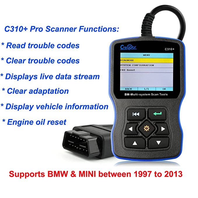 Amazon autos family creator c310 v62 for bmw multi system amazon autos family creator c310 v62 for bmw multi system diagnostic tool obdiieobd scanner code reader free update online automotive publicscrutiny Choice Image